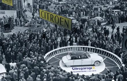 DS und Citrogarage auf dem Pariser Autosalon